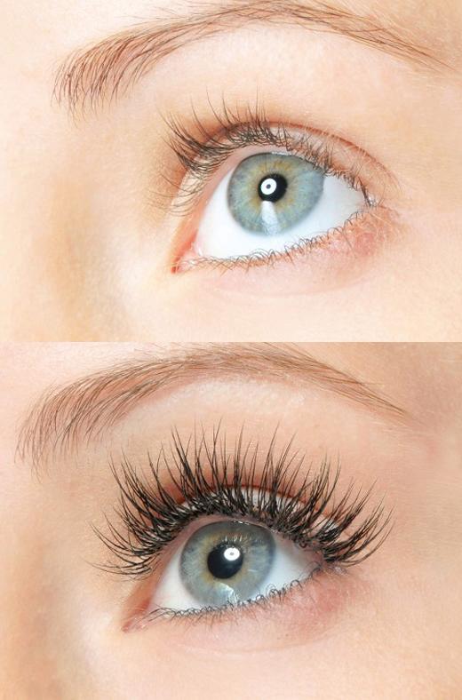 eyelash before after