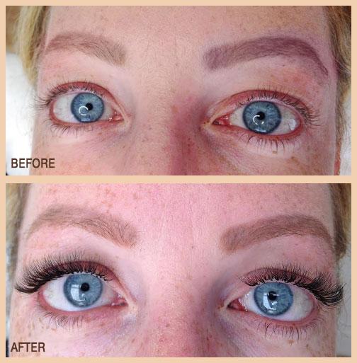 eyelash extensions CT
