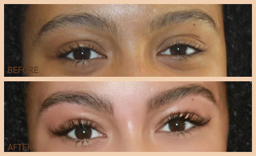 eyelash extensions CT